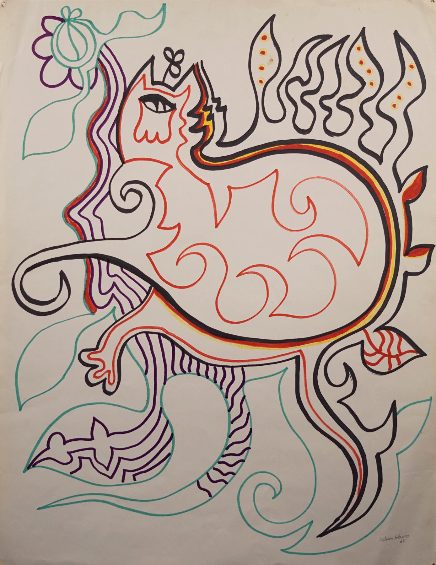 Nelson Blanco - Dibujo
