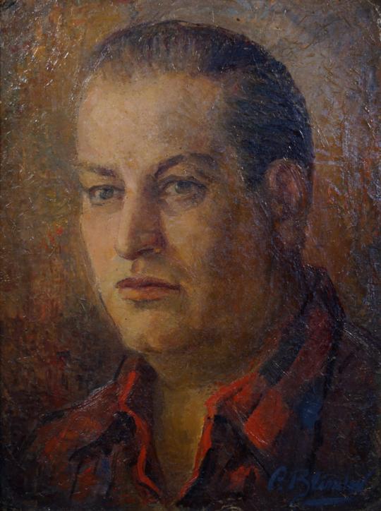 Paulina Blinder - Retrato de Emilio Centurión