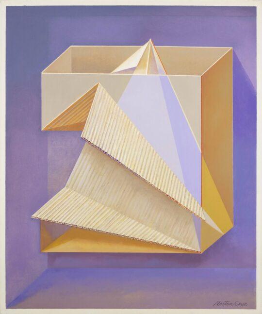 Néstor Cruz - Cubo pasando a tetraedro