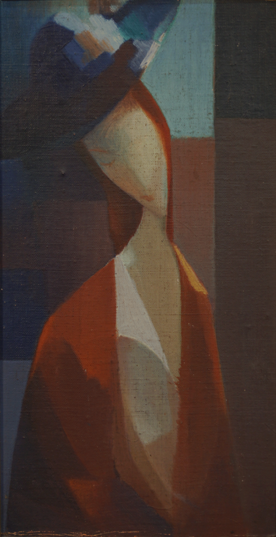 Juan Giardineri - La mujer del sombrero