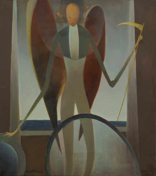 Juan Giardineri - Angel con guadaña
