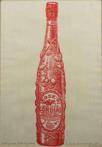 Lea Lublin - La botella perdida de Marcel Duchamp