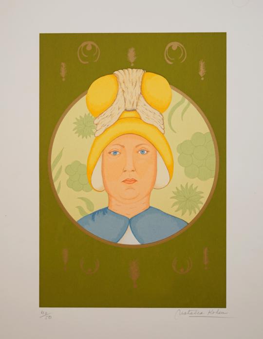 Natalia Kohen - Mujer con sombrero