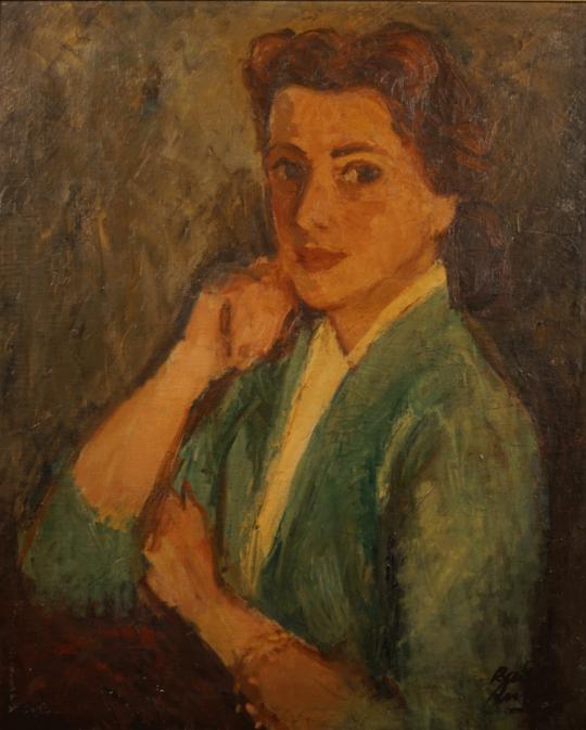 Raúl Russo - Retrato de mujer