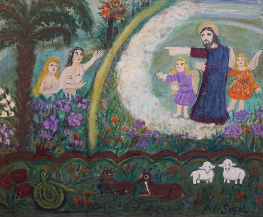 Ana Sokol - La expulsión del jardin