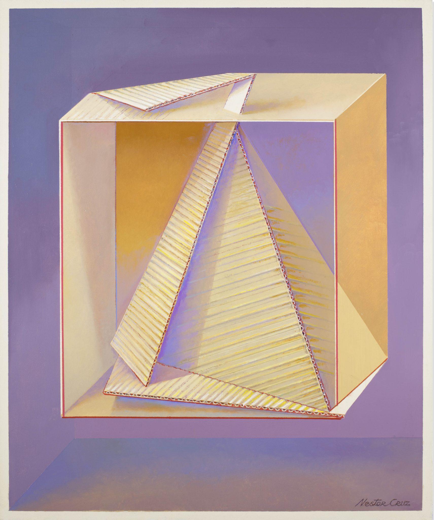 Néstor Cruz - Tetraedro volviendo a ser cubo
